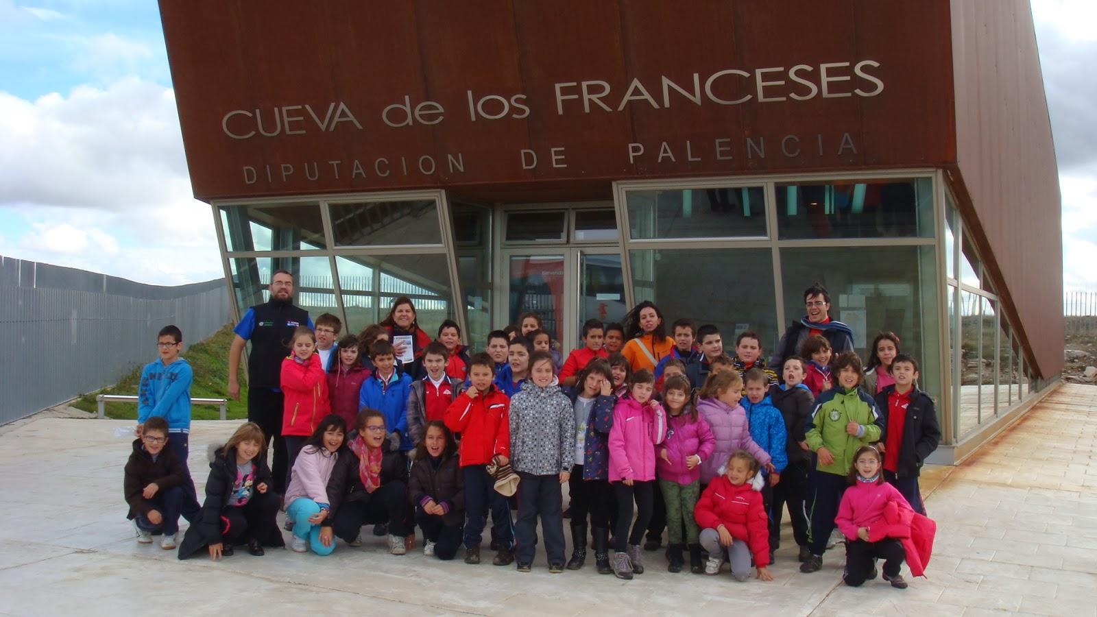 Cueva de los franceses palencia colegio el otero de guardo - Colegio otero de navascues ...