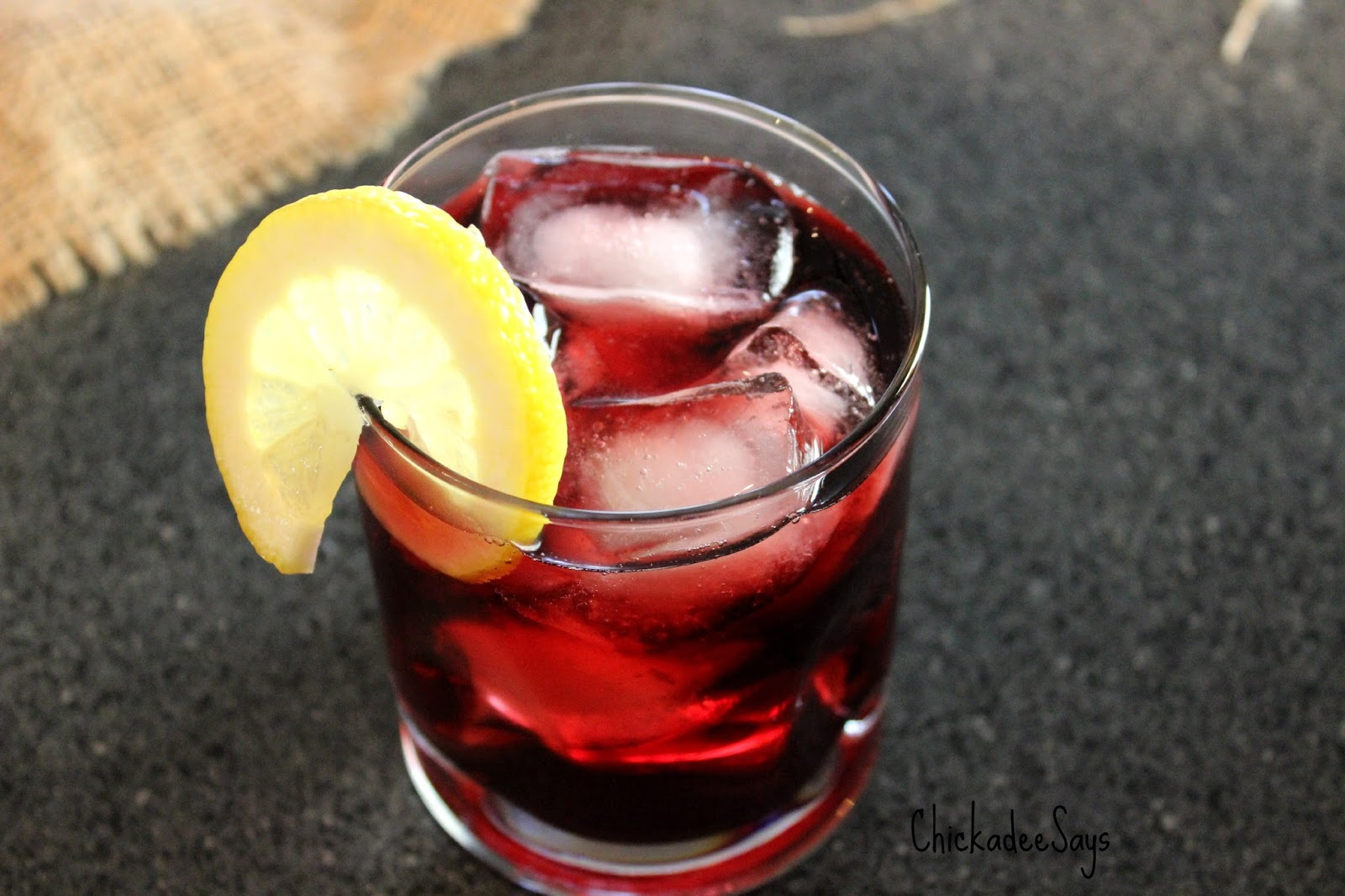 Chickadee Says: Summer Drink Series: Blackberry-Orange Gin and Tonic