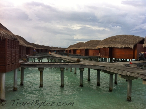 Anantara Dhigu Resort & Spa Water Bunglow