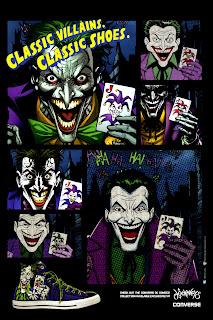 Joker Converse ad