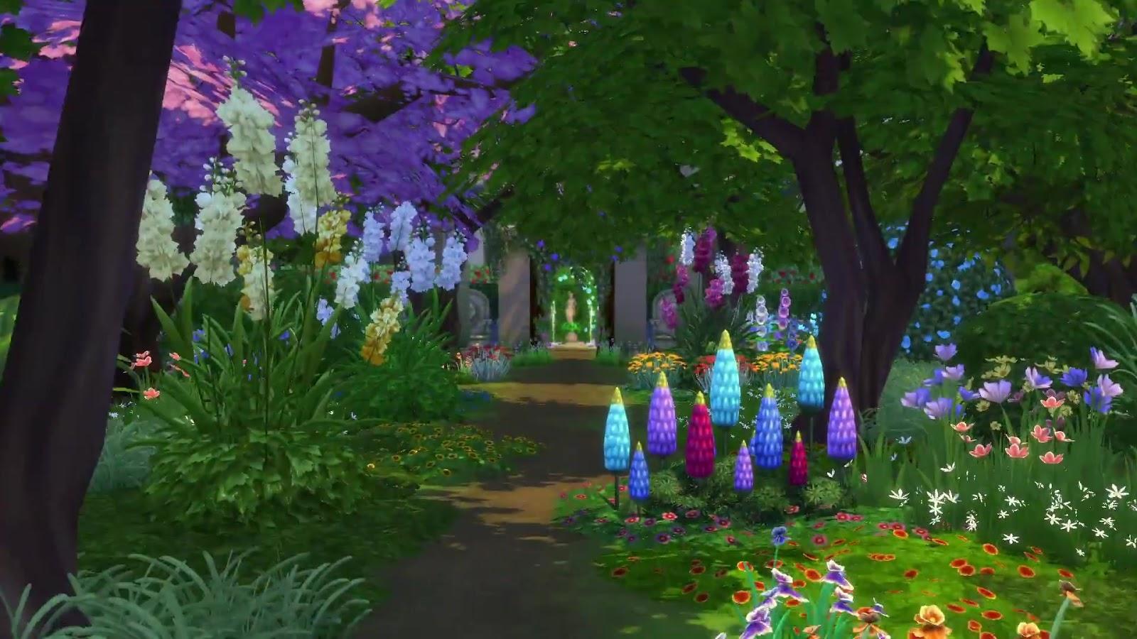 sims 3 how to create a garden