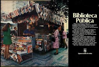propaganda editora Abril - 1971- reclame década de 70;  propaganda década de 70; Brazil in the 70s; Reclame anos 70; História dos anos 70; Oswaldo Hernandez;