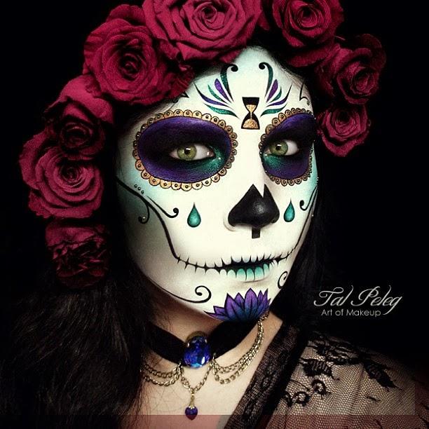 Maquiagem halloween inspirar