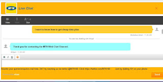 wikiban.com | MTN live chat process