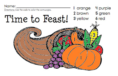 http://www.teacherspayteachers.com/Product/Color-by-Number-Thanksgiving-Feast