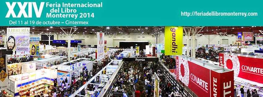 Progama feria del libro Monterrey 2014