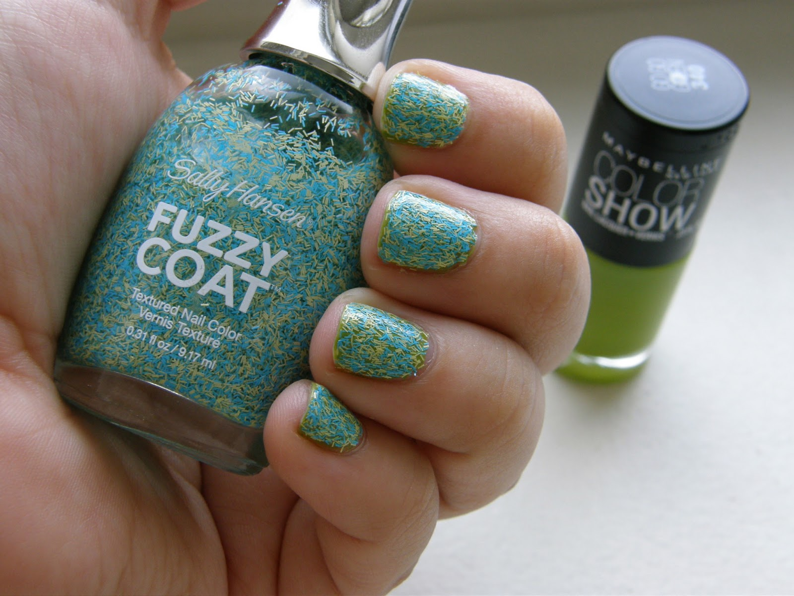 Thrift Thick: NOTD²: Sally Hansen Fuzzy Coat Textured Nail Colors ...