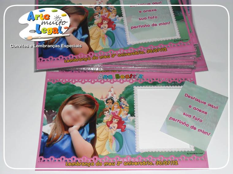 Arte Muito Legal - Convites infantis e lembrancinhas artesanais
