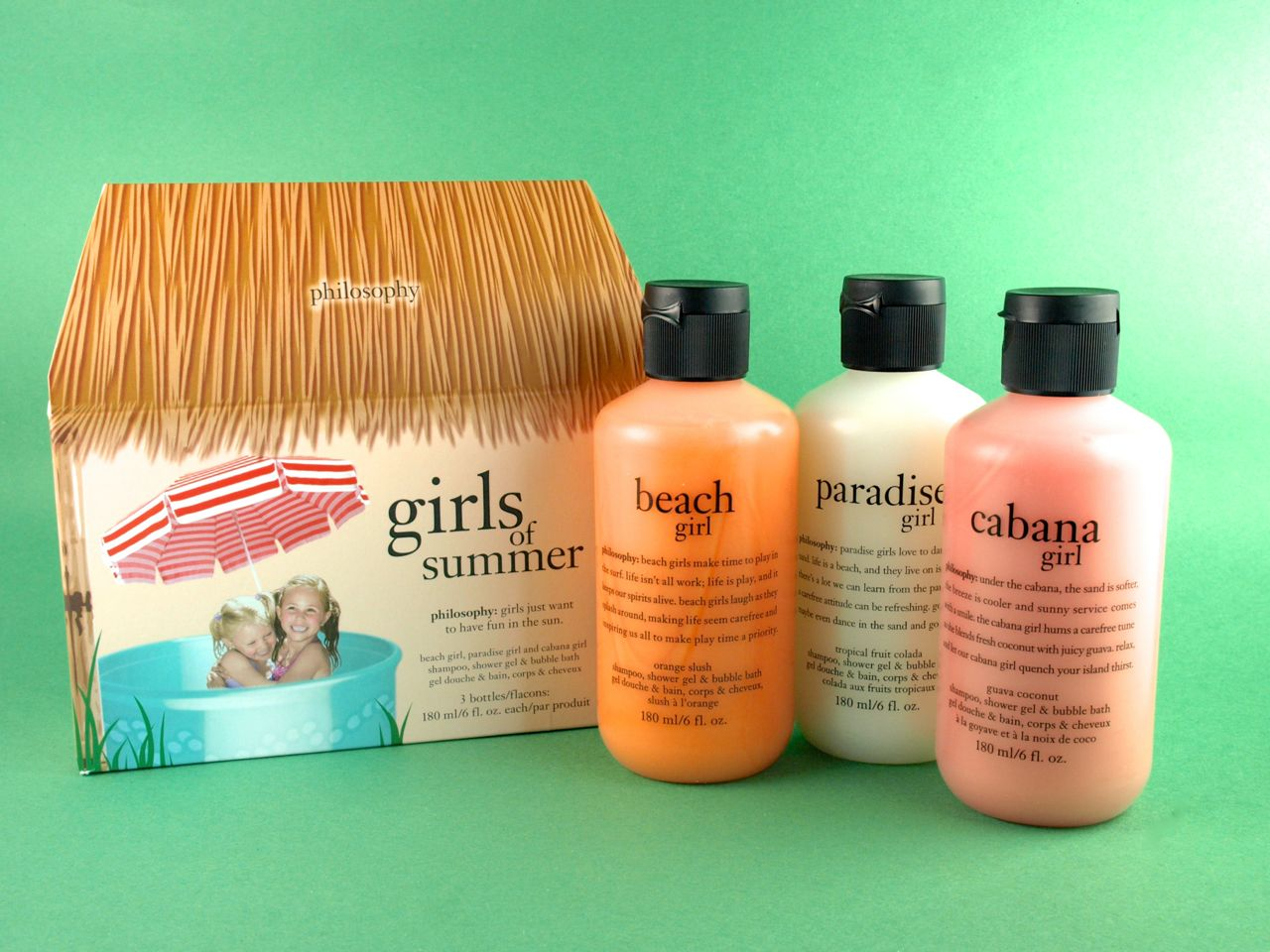 Philosophy Girls of Summer Shower Gel Gift Set: Review