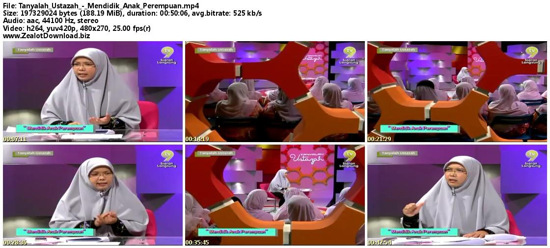 Download Tanyalah Ustazah - Mendidik Anak Perempuan | Episod 8 | 22 ...