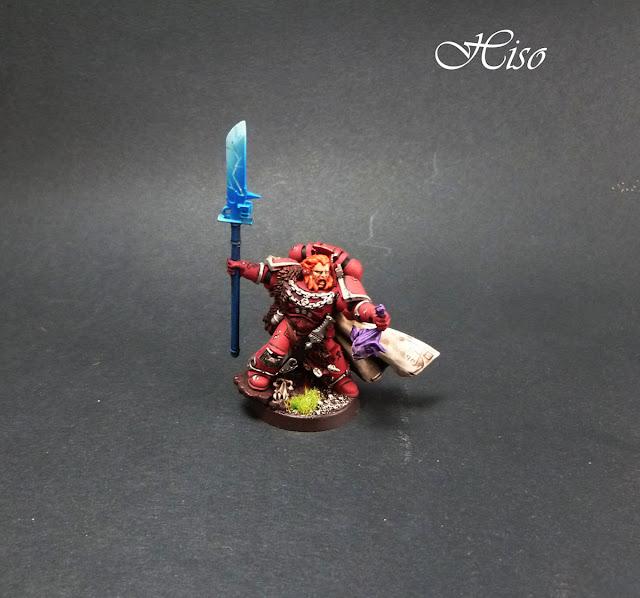 Space Wolf - Rune Priest