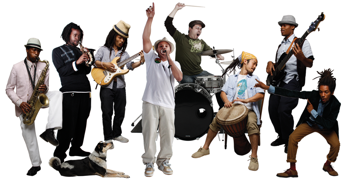 Musicians in a Band