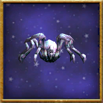 Wizard101 Spiral Cup Gauntlet Bundle Card Pet - Purple Spider