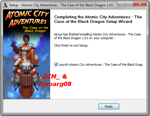 Atomic City Adventures [The Case Of The Black Dragon] 2011 PC Full [ISO] Descargar