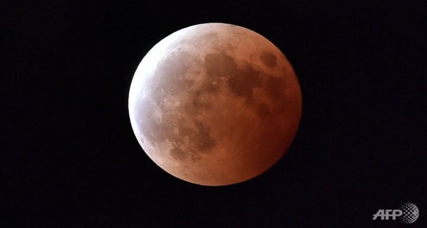 Gerhana Bulan Penuh Tiba-tiba Muncul Di Arab Saudi