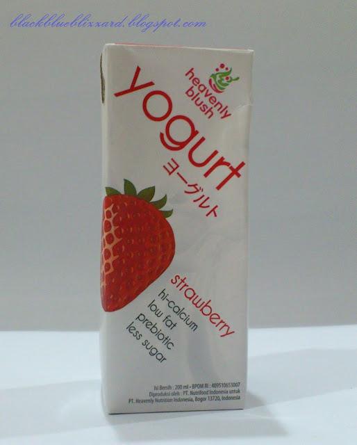 strawberry, heavenly blush, jakarta, indonesia, yogurt drink