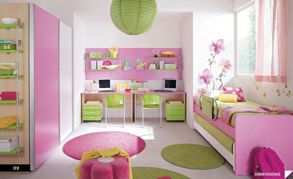 20 bellos dise os de habitaciones infantiles for Diseno de habitaciones infantiles
