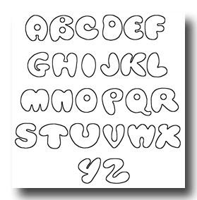 Grafity Tawur Bubble Letters