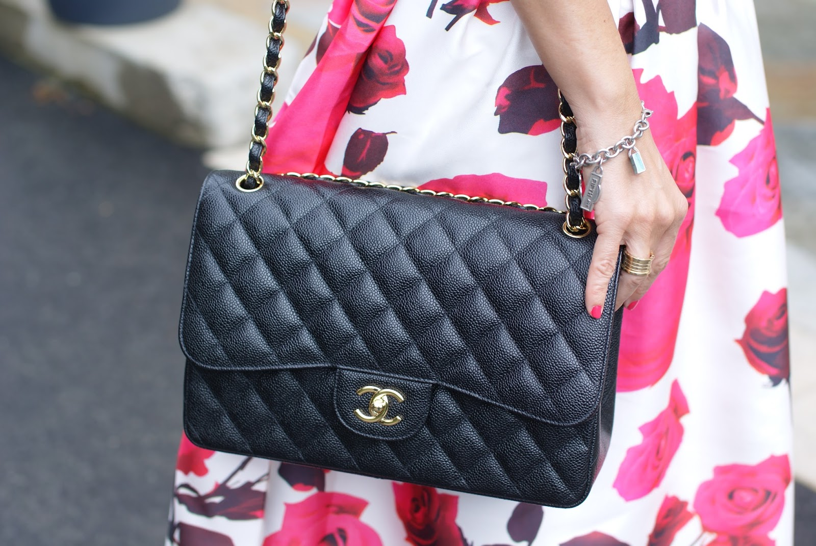 2.55 Chanel bag on Fashion and Cookies fashion blog