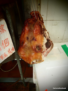 thehomefoodcook - four days of hong kong - roast pig head