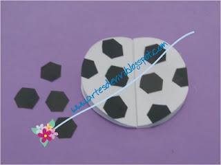aniversário futebol artesanato