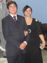 Pr. Isaias Gomes e esposa