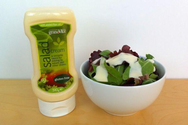 UK Vegan Review: Granovita Vegan Salad Cream