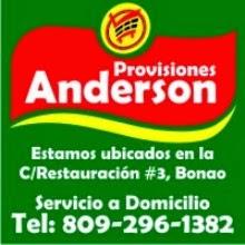 PROVISIONES ANDERSON