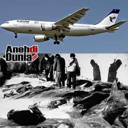 Pesawat Ditembak Jatuh