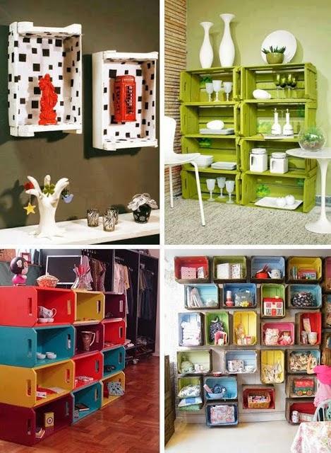 Muebles hechos con madera reciclada portal de manualidades - Decoracion reciclaje muebles ...