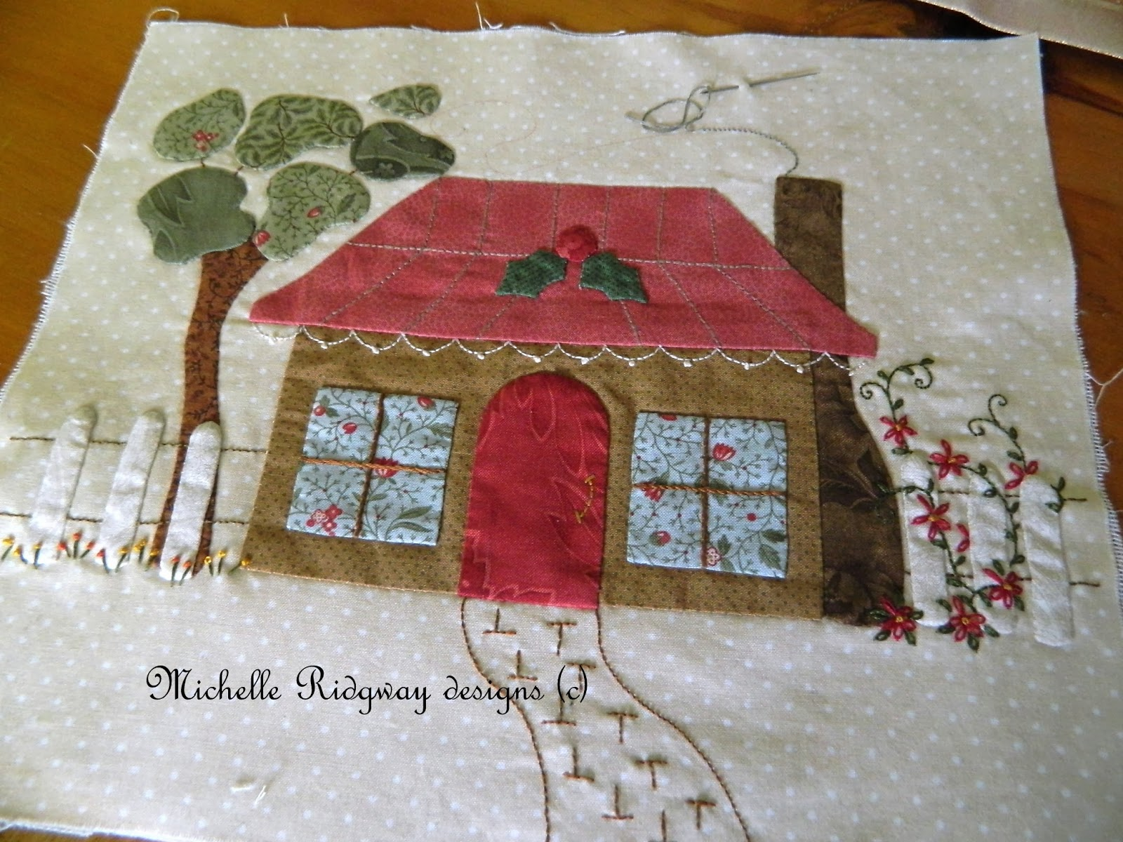 Michelle ridgway exciting news fnwf - Cojines de patchwork ...