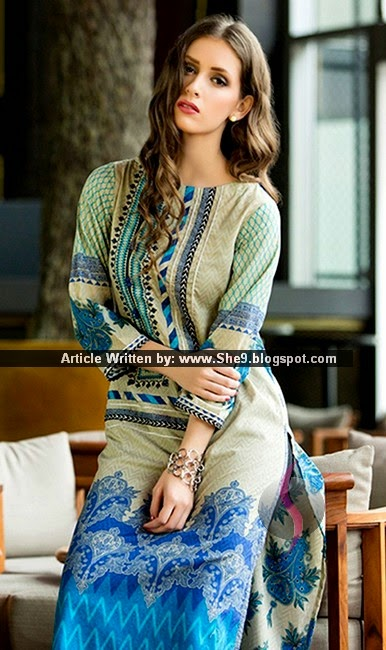 Orients Lawn Kurti for Summer 2015