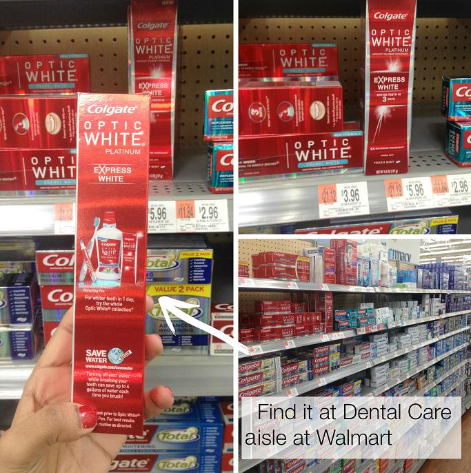 #OpticWhite #ColectiveBias #Ad # Colgate® Optic White® Express White Toothpaste