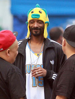 Snoop Dogg, Snoop Lion, fish hat, flounder