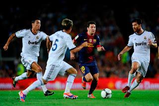 Barca Atasi Madrid 3-2