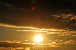 Die Sonne geht,- die Sonne kommt...