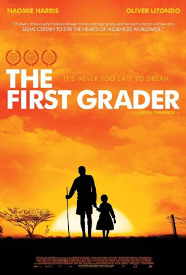 Watch The First Grader 2010 BRRip Hollywood Movie Online | The First Grader 2010 Hollywood Movie Poster