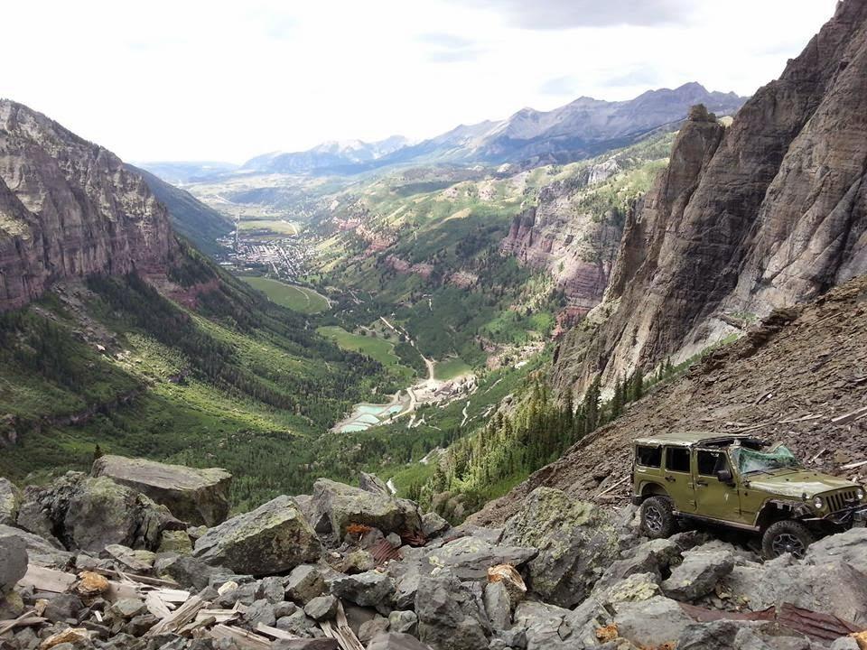 Rubicon4wheeler Jeep Rollover On Black Bear Pass