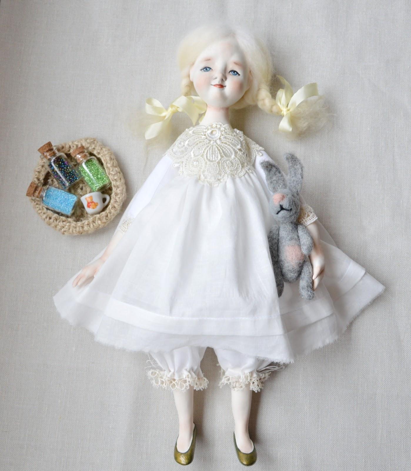 Как сделать будуарную куклу фото 459