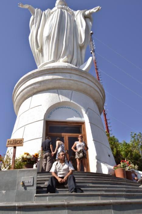 Con la Inmaculada Concepción