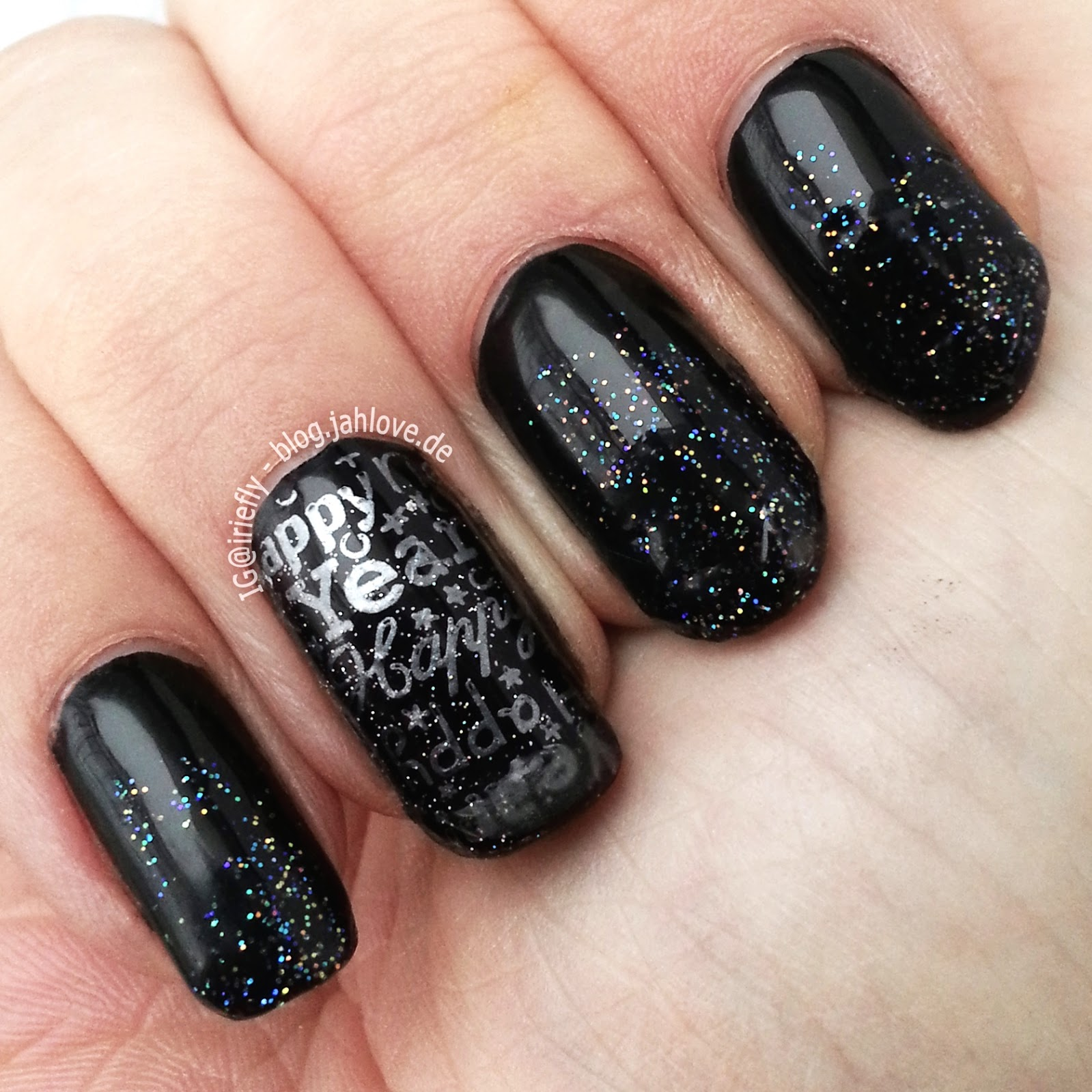 nails meine silvester n gel 2014. Black Bedroom Furniture Sets. Home Design Ideas