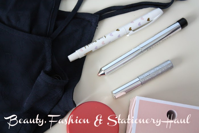 The Extras | A Fashion, Beauty & Stationery Haul