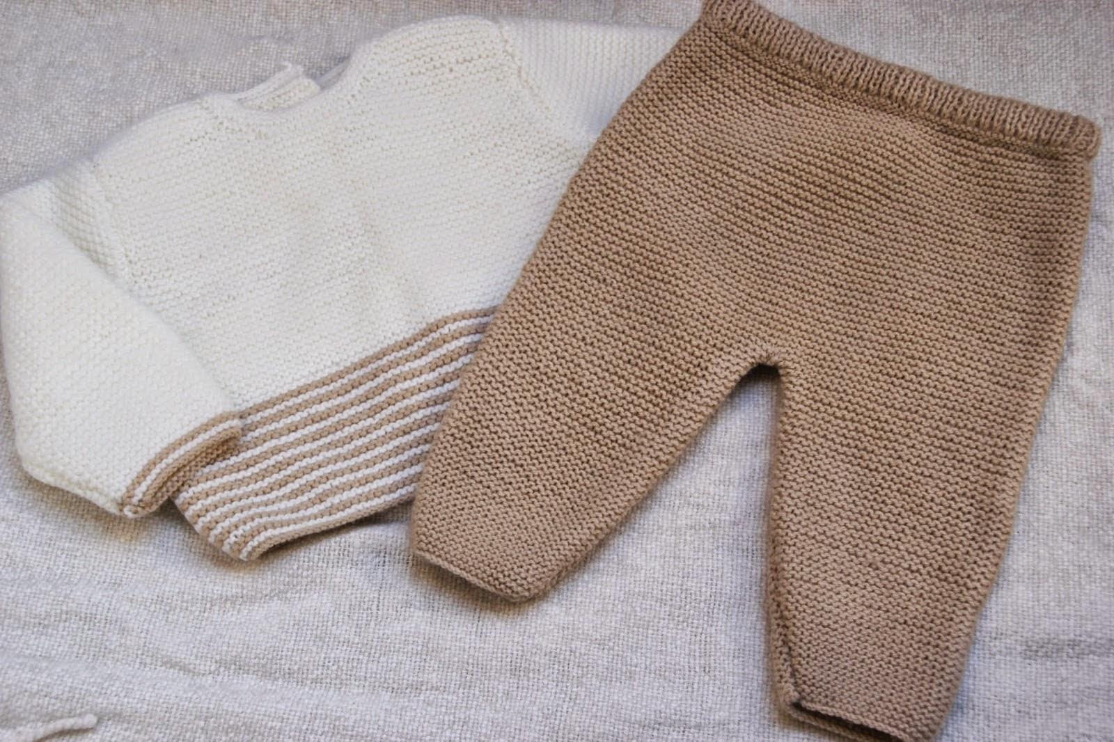 Patrones y tutoriales de ropa para ni os y beb s gratis - Como hacer punto de lana paso a paso ...