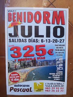 Viajes con alojamiento en hoteles de Benidorm