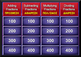 http://www.math-play.com/Fractions-Jeopardy/play.swf
