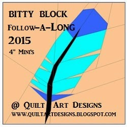 Bitty Block Follow-A-Long  @ Quilt Art Deigns