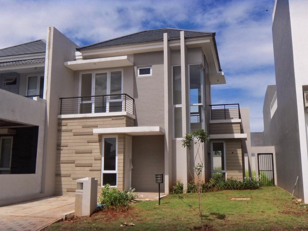 Rumah Sudut 2 Lantai 2014