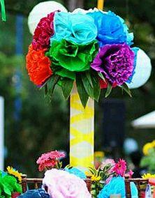 Decoracion de Bodas Multicolor, Centros de Mesa