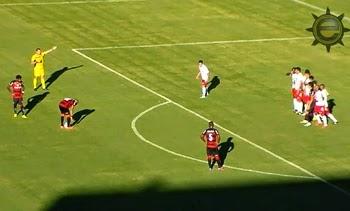 Veja os gols de Vitória 4 X 2 América-RN