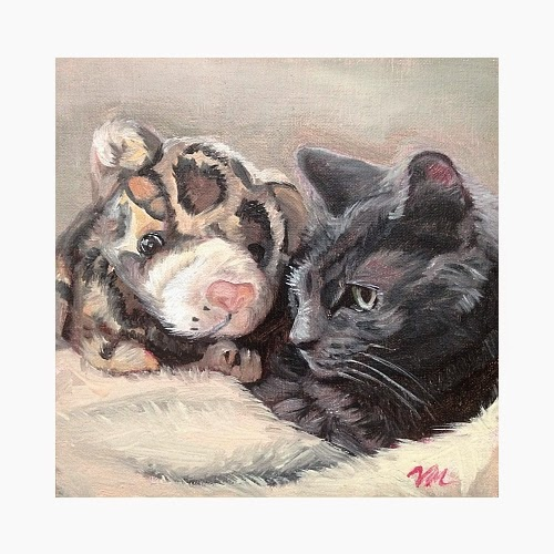 "Victoria Page Miller ""You've Got a Friend in Me"" painting"